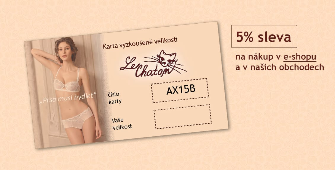 Karta vyzkoušené velikosti - luxusní spodní prádlo  a742579729