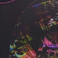 neon pixel print