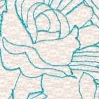 blue aquarelles