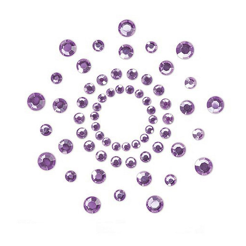 šperk na tělo Mimi purple uni