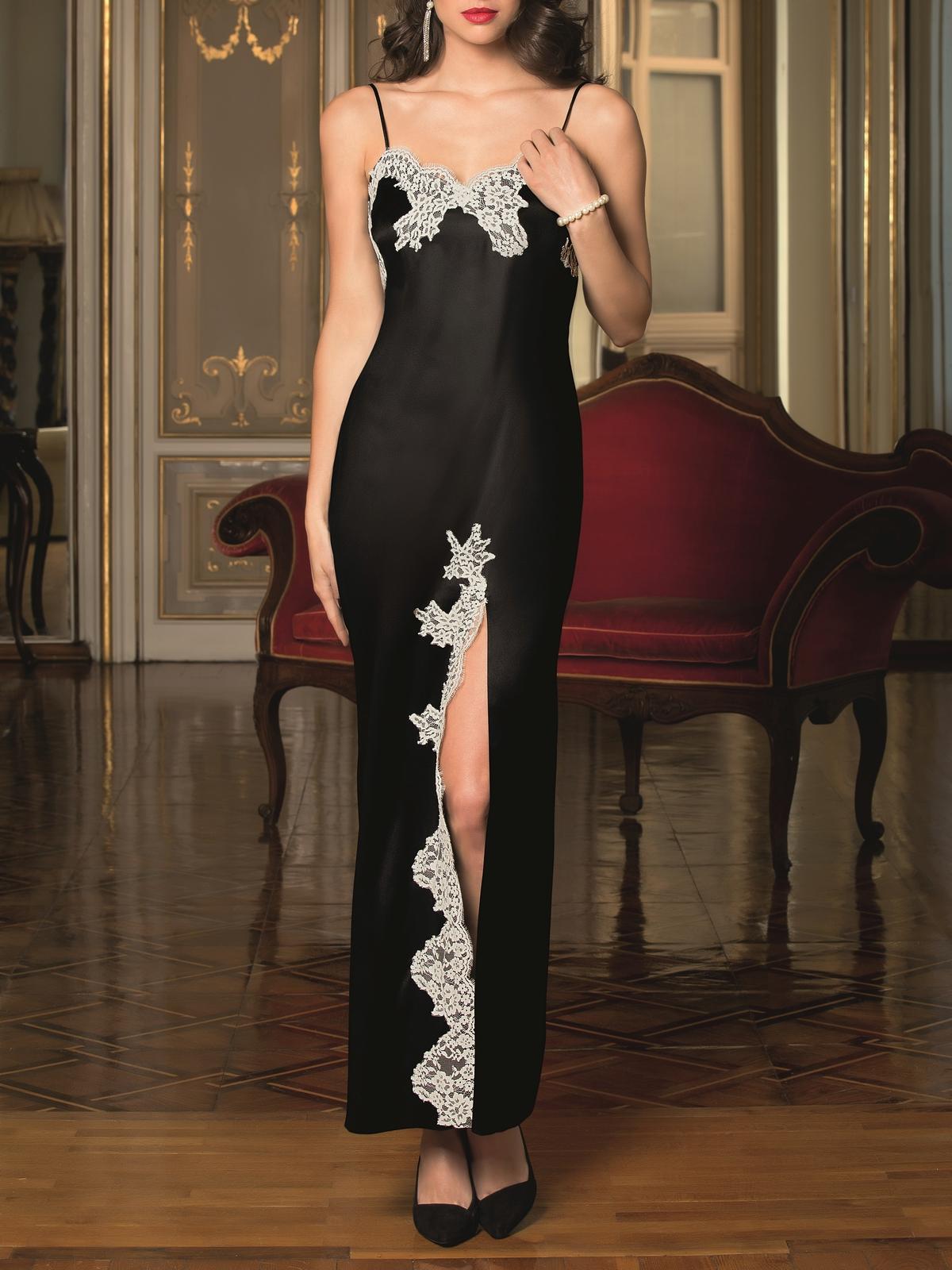 882857c9097 Noční košilka dlouhá - luxusní spodní prádlo