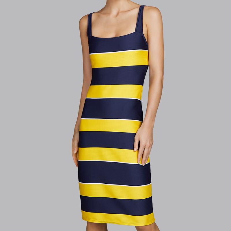 šaty dlouhé marine swim XS 0daf72253e