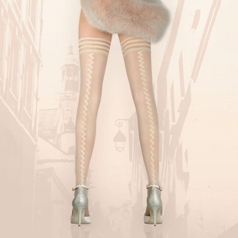 b582c20c5e7 Samodržící punčochy Invitation - luxusní spodní prádlo