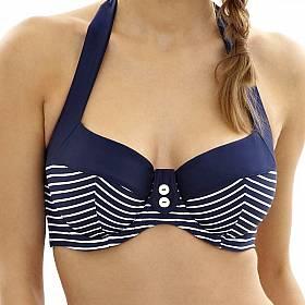 plavky dvoudílné nevyztužené E-G Panache - Britt Stripe