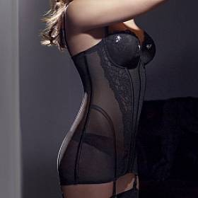 korzet s vyztuženými košíčky B-D Simone Perele - Couture