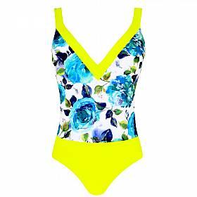 plavky jednodílné nevyztužené Simone Perele - Floraly