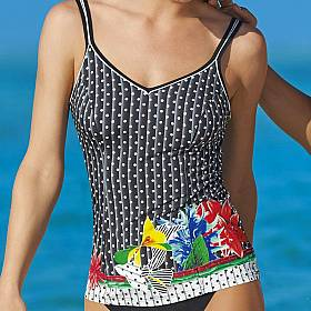 tankini E-G Sunflair - Happy Dots