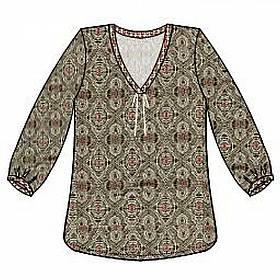 košile  Antigel - Beaute ethnic
