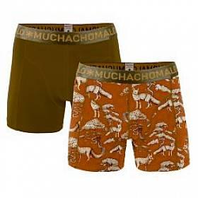 boxerky 2-pack Muchachomalo - Fox